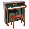 Schoenhut Traditional Deluxe Spinet Piano in Mahogany and Black