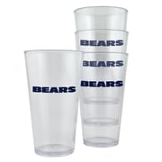 Boelter NFL Pint Cup (Set of 4); Chicago Bears