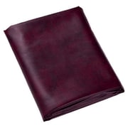 Cuestix 8' Fitted Heavy Duty Table Cover; Wine