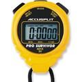 Accusplit Professional Survivor Stopwatch; Yellow