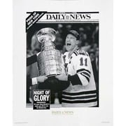 Steiner Sports NHL Mark Messier Replica Daily News Cover Uns Photograph
