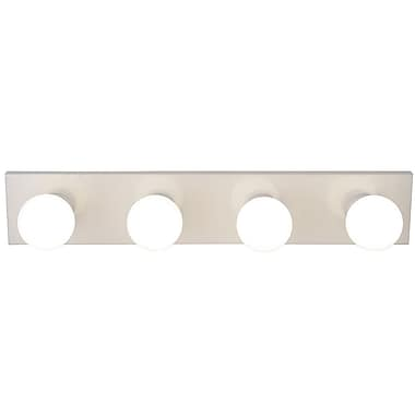 Monument 4-Light Bath Bar; White