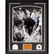 Steiner Sports Texas Western with Coach Vertical Framed Photograph