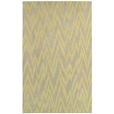 LR Resources Dazzle Gray & Gold Area Rug; 8' x 10'