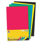 Pacon Creative Products 14'' x 22'' Posterboard (5 Pack); Assorted