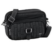Lug Carousel Mini Cross Body Bag; Midnight Black
