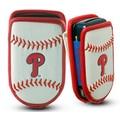 Gamewear MLB Leather Cell Phone Holder; Philadelphia Phillies