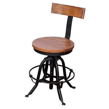 Wildon Home   Umaria 18'' Adjustable Bar Stool