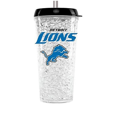 DuckHouse NFL Crystal Insulated Tumbler; Detroit Lions