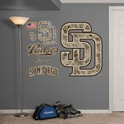 Fathead MLB Wall Decal; San Diego Padres - Camouflage