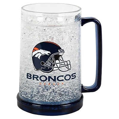 DuckHouse NFL 16 Oz. Beer Glass; Denver Broncos WYF078276161772