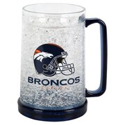 DuckHouse NFL 16 Oz. Beer Glass; Denver Broncos
