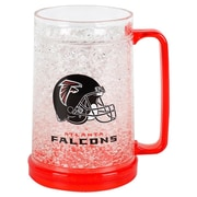 DuckHouse NFL 16 Oz. Crystal Freezer Mug; Atlanta Falcons