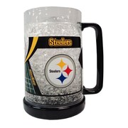 DuckHouse NFL 16 Oz. Beer Glass; Pittsburgh Steelers