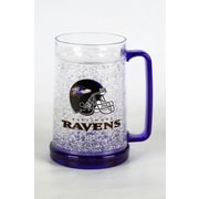 DuckHouse NFL 16 Oz. Crystal Freezer Mug; Baltimore Ravens