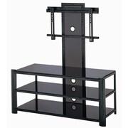 Lite Source Burly 53'' TV Stand; Black