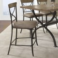 Hillsdale Charleston 26'' Bar Stool with Cushion (Set of 2)