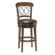 Hillsdale Bergamo 30'' Swivel Bar Stool with Cushion