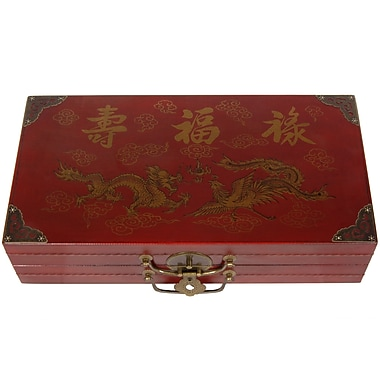 Oriental Furniture Chess Set Box