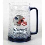 DuckHouse NFL 16 Oz. Beer Glass; New England Patriots - Helmet