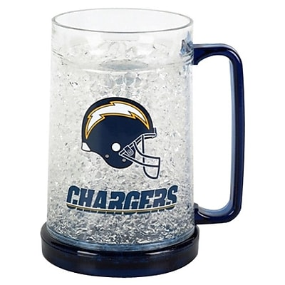 DuckHouse NFL 16 Oz. Beer Glass; San Diego Chargers WYF078276161782