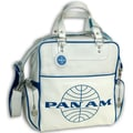 Pan Am 70's Original Satchel; Vintage White