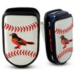 Gamewear MLB Leather Cell Phone Holder; Baltimore Orioles