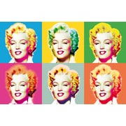 Brewster Home Fashions Ideal Decor Visions Of Marilyn Wall Mural