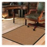 Deflecto Hard Floor Straight Edge Chair Mat; 0.1'' H x 45'' W x 53'' D
