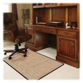 Deflecto Medium Pile Carpet Straight Edge Chair Mat; 0.3'' H x 45'' W x 53'' D