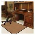 Deflecto RollaMat Medium Pile Carpet Straight Edge Chair Mat; 0.3'' H x 46'' W x 60'' D