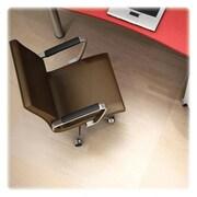 Deflecto Polycarbonate Hard Floor Straight Edge Chair Mat; 0.1'' H x 36'' W x 48'' D