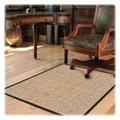 Deflecto Hard Floor Straight Edge Chair Mat; 0.1'' H x 46'' W x 60'' D