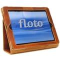 Floto Imports Roma Sleeve for iPad2; Olive (Honey) / Brown