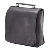 Clava Leather Vachetta Hip To Be Square Backpack; Black