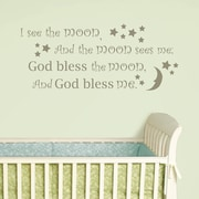WallPops! Baby I See the Moon Wishes Wall Decal
