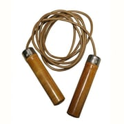 Amber Sporting Goods Leather Jump Rope; 8'
