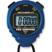 Accusplit Professional Survivor Stopwatch; Blue