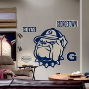 Fathead College Teams NCAA Logo Wall Decal; Georgetown