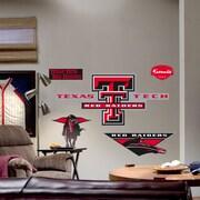 Fathead College Teams NCAA Logo Wall Decal; Texas Tech