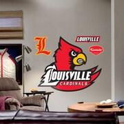 Fathead College Teams NCAA Logo Wall Decal; Louisville