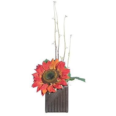 Vickerman Floral Sunflower; Orange