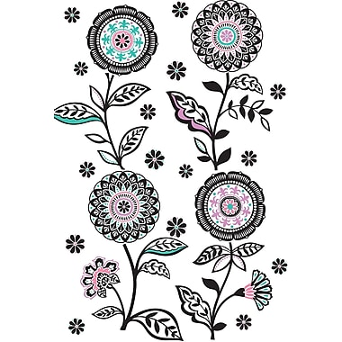 WALL POPS!® Large Wall Art Kit, Floral Medley, 27 Stickers