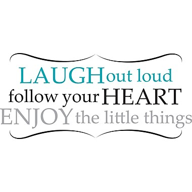 WALL POPS!® Wall Words, Laugh Out Loud, 14 Stickers