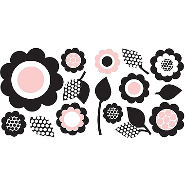 WALL POPS!® Mini Pops Wall, Gigi Floral, 30 Stickers