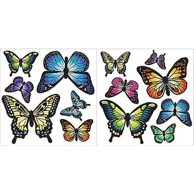 WALL POPS!® Mini Pops Wall, Butterflies, 27 Stickers