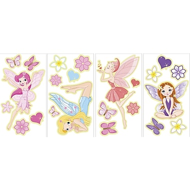 WALL POPS!® Glow in the Dark Wall, Fairies, 23 Stickers