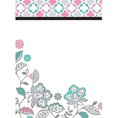 WALL POPS!® Dry-Erase Message Board, Floral Medley, 13