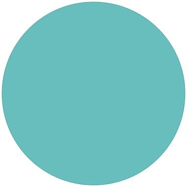 WallPops!MD – Autocollants muraux à effacement à sec, formes variées, Bleu calypso, 3 autocollants