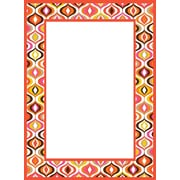 "WALL POPS!® Dry-Erase Message Board by Jonathan Adler, Bargello Waves, 13"" x 17-3/4"""